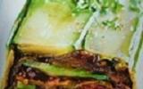 Terrine de légumes aux pignons de pin