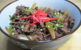 Gyuudon - plat traditionnel japonais