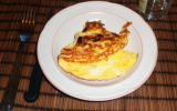 Omelette aux aillets