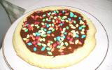 Gâteau au chocolat et Carambar fondant