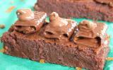 Fondant chocolat-marron, gavottes et noix de nutella
