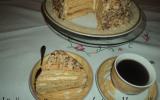 Medovnik gâteau au miel (Tchèque )