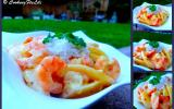 Curry de crevettes, mangue et lait de coco