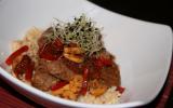 Agneau délicieusement diététique au wok