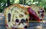 Cake aux gésiers confits, baies de cassis & tomme de montagne