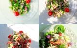 Jardinière de légumes et de fruits de mer