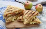 Croque-monsieur pomme et camembert