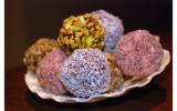 Truffes chocolat aux 4 saveurs
