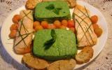 Purée de poivrons et filets de saumon  (basses calories)