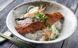 Saumon teriyaki et riz
