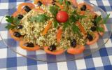 Quinoa  gourmand en salade.