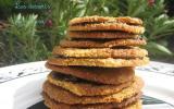 Biscuits doubles aux flocons d'avoine et chocolat