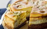 Cheesecake ananas