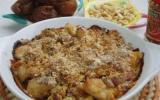 Crumble de poulet aux figues