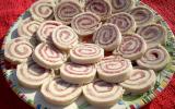 Petits roulés au jambon et au salami