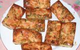 Bouchées poireau et saumon fumé