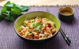 Salade de crevettes aux pousses de bambou