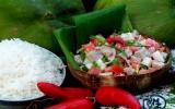Poisson cru à la tahitienne aux herbes aromatiques