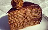 Mille crêpes à la noisette et au chocolat