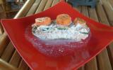 Papillotes de saumon aux légumes