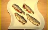 Sardines farcies au boursin et tomates confites