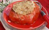 Tomate Coeur de Boeuf farcie aux deux viandes