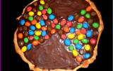 Tarte chocolat m&m's