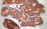 Saucisson au chocolat économique