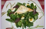 Salade de chèvre chaud et gésiers confits !