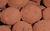 Truffes au chocolat noir rapides