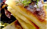 Samoussas au fromage de chèvre et légumes