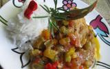 Poulet basquaise aromatique