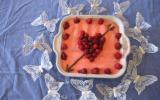 Tiramisu rose-framboises pour la saint-valentin