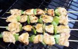 Chich-kebab poulet au thym