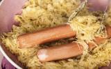 Choucroute aux saucisses de Strasbourg