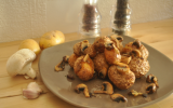 Rochers de pommes de terre à l'Actifry