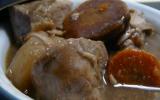 Petite cocotte de veau aux carottes colorées