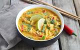 Bouillon de Ramen Thaï au poulet