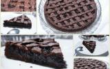 Tarte de Linz au chocolat et à la confiture de mûres maison