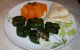 Petites bouchées, quinoa et épinards