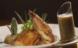 Le poulet bourbonnais à la moutarde de charroux