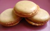 Macarons acidulés à la framboise