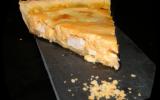 Quiche au poulet, potiron & fromages