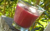 Smoothie poires cassis