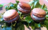 Macaron noix roquefort