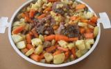 Ragoût d'agneau à l'orientale, recette Poupi