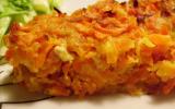 Tarte aux carottes et au poulet