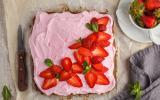 Gateau aux fraises mascarponne