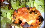 Les tartelettes aux poireaux lardons & Fromage