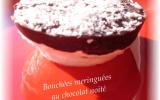 Bouchées meringuées au chocolat noité
